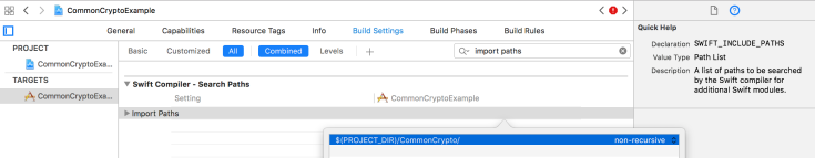 CommonCryptoImportPaths